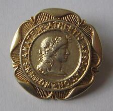 Genuine Silver British Women's National Athletics Champion's Medal / Badge 1947