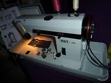 Ihr Nähmaschinen-Mechaniker empf. PFAFF 294 im  Koffer mit Zubehör Wartung