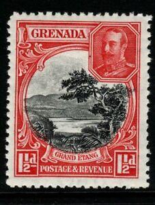 GRENADA SG137 1934 1½d BLACK & SCARLET p12½ MTD MINT