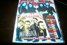 METAL HAMMER MAGAZINE 11/1998 METALLICA SEPULTURA JUDAS PRIEST BLACK SABBATH