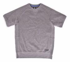 2016 NWT MENS ELEMENT LANGLEY S/S CREW $60 M Grey Heather sweater