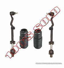 Inner Outer STEERING Tie Rod Rods Assembly RACK BOOT KIT 4 for BMW E30 318i 325i