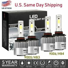 90059006 Combo Led Headlight Bulb Kit For Chevy Silverado1500 2500 Hd 2001 2006 Fits More Than One Vehicle