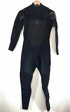 Hurley Mens Full Wetsuit Fusion 4/3 Size S Small Retail $380 - READ