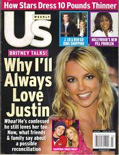 BRITNEY SPEARS US Magazine 1/20/03 GEORGE CLOONEY DENZEL WASHINGTON NO LABEL