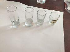 Shot glasses ~ Jack Daniels, Absolute. Flying W, Crista ~ 4