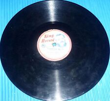 """Tex Ritter - High Noon; Patti Page - Tennessee Waltz / King Records Japan, 10"""" 7"""