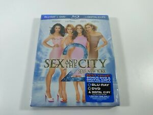 Sex and the City 2 Blu-ray DVD Digital Copy 2010 New