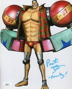 "Patrick Seitz Autograph Signed 8x10 Photo - One Piece ""Franky"" (JSA COA)"