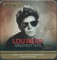 Lou Reed - Gold - Greatest Hits - Limited Edition Steel Box 3CD NEW/SEALED