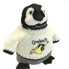 """Penguin Graduate Plush (10"""" Tall)"""