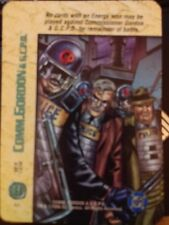DC Overpower Comm. Gordon and the G.C.P.D. Riot Gear NrMint-Mint Card