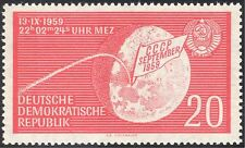 Alemania 1959 cápsula de aterrizaje satélite/Luna/espacio/ciencia/Rocket 1v (n43611)