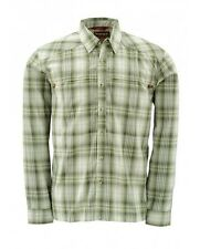 Simms Kenai Shirt ~ Dill Plaid NEW ~ Closeout Size Small