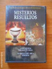 DVD LA BUSQUEDA DEL SANTO GRIAL - EN BUSCA DEL ARCA PERDIDA (8P)