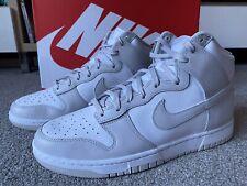 Nike Dunk High Retro White Vast Grey White UK 9 US 10 EU 44 BNIB