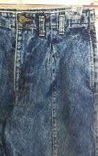 Vtg Guess Georges Marciano Womens Jeans Acid Wash Pleated High Waist Size 31