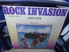 Rock Invasion 1956-1969 [Rod Stewart Joe Cocker ZombiesSmall Faces] LP 1978 EX