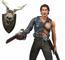 NECA FIGURINE EVIL DEAD 2 MOVIE ASH THE HERO LE MAISON 2 NOUVEAU en BLISTER