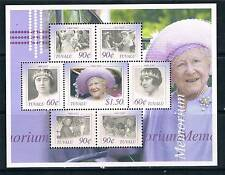 Tuvalu 2002 Queen Mother Commemoration SG 1059-65 MNH
