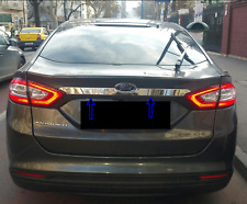 Ford Mondeo MK5 Saloon 2015Up  Chrome Rear Trunk Tailgate Lid Cover S.Steel