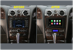 2004 - 2011 BENTLEY CONTINENTAL DOUBLE DIN RADIO INSTALL KIT BEZEL STEREO REPLAC