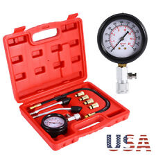 Professional Petrol Gas Engine Cylinder Compression Tester Gauge Kit Tool Auto