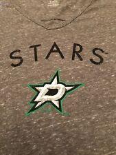 Dallas Stars T Shirt Shirt Small NHL Hockey Gray