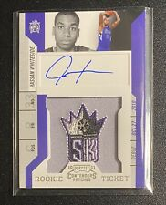 2010-11 Playoff Contenders Patches Rookie Ticket Hassan Whiteside Auto #181