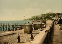 From Maritime Boulevard, Le Havre, 1890's, Vintage French Photography Poster