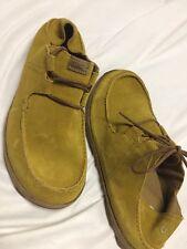 Olukai OHANA LACE UP Men's  Casual Driving Shoes Size 9 Suede EUR 42