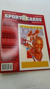 Michael Jordan 1991 Allan Kaye's Sports Cards Magazine Issue #1 w/Sports Cards
