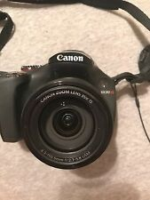 Canon PowerShot SX30 IS 14.1MP Digital Camera - Black