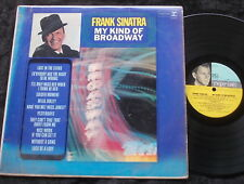 FRANK SINATRA My Kind Of Broadway LP ORIG UK MONO