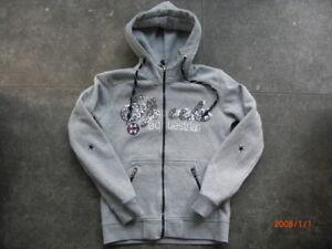 Damen-Reit-Jacke von Spooks, grau, Größe M