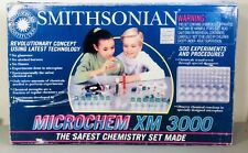 Smithsonian Microchem XM 3000 the safest chemistry set made 500 experiments