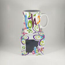 ISLAND HERITAGE Hawaii Colorful Bold Aloha Coffee Mug Cup - New in Box