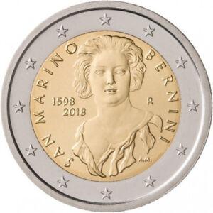 Sondermünzen San Marino: 2 Euro Münze 2018 Bernini Sondermünze Gedenkmünze