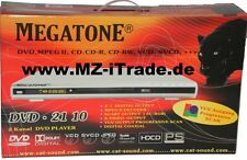 DVD-Player Megatone 5.1 Scart YUV Alle Formate DVD Player CD Filme Musik 2 Kanal