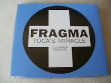 FRAGMA - TOCA'S MIRACLE - POSITIVA DANCE CD SINGLE