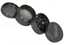 "2.2"" Medium - GUN METAL GRAY 4 Piece SANTA CRUZ SHREDDER Aluminum Herb Grinder"
