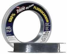 Berkley Trilene Fluorocarbon 100 Yards Clear Big Game Leader Line - 20lb - 80lb