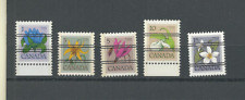 CANADA PRECANCELS 1977-83 SC #'s 781,783,785-87 UNUSED VF FREE WORLD SHIPPING