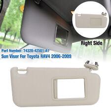 Right Passenger Side Vinyl SunVisor Genuine 74320-42501-A1 For Toyota Rav4   ^