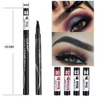 Wasserdichte 4 Gabelspitze Augenbrauenstift Microblading Tattoo Tinte Pen NEU