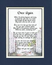Once Again, #106, Touching Bereavement Memorial Poem, For The Loss Of A husband