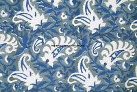 10 Yards Cotton Indian Hand Block Floral Print Cloth Fabric Natural jaipur