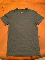 H&M Men's Short Sleeve Black/Gray Heather T Shirt, Men's S Basic