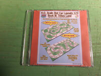 HO Scale Slot Car Track Layouts 123 Book III: Trihex Land PDF file on DVD
