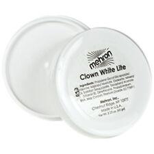 Mehron Clown White Lite Professional Clown & Mime Makeup Face Body Paint 2 oz.